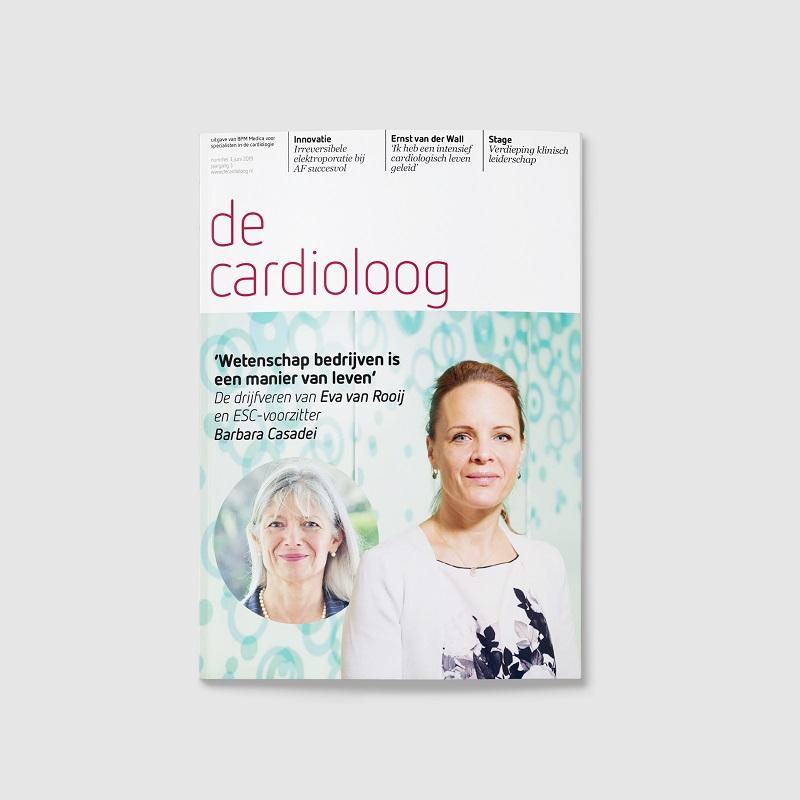 cardioloog tijdschrift cover