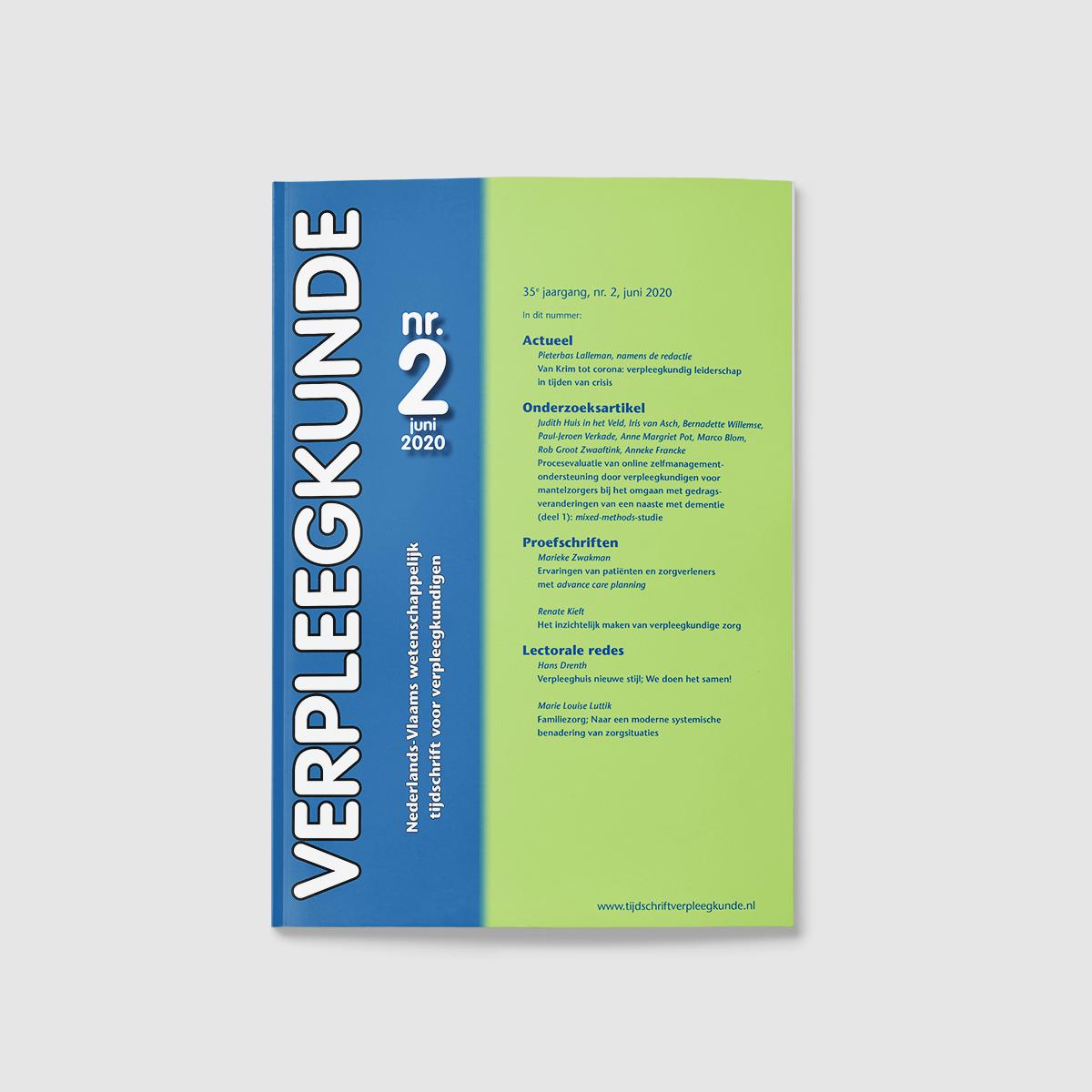 tijdschrift verpleegkunde cover