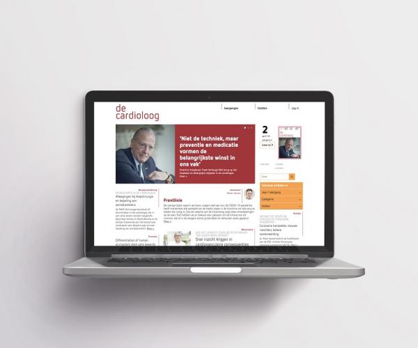 website cardioloog homepage